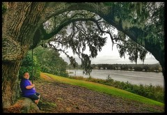 10/23/17 - A 900 year-old live oak @ Middleton Place (CubMelodic23) Tags: october 2017 vacation trip charlestonsc southcarolina middletonplaceplantation plantation historic history hdr trees liveoaks spiritual selfportrait me dave
