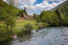 Pogled s mosta na prvu kuću u Kuparima Donjim (MountMan Photo) Tags: kupari rijekakupa gorskikotar primorskogoranska croatia voda landscape