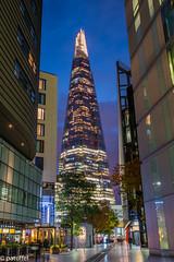 The Shard at night - London (patuffel) Tags: shard england london blue hour skyscraper night