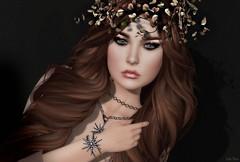 the near and the far... (Lori Novo) Tags: fameshed lorinovo secondlife avatar virtual blogger dahlia lode truthhair makeoverroom it