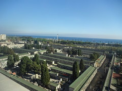 Cemetery, view from hotel room (Sharon Burkhardt) Tags: brillianceoftheseas royalcaribbean cruising barcelona spain