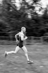 training (RubyT (I come here for cameradarie)) Tags: черноеибелое pentaxkp da2040ltd training running panning blur mono monocromo monochrome pentax pentaxart bw nb bn noirblanc blancoynegro schwarzweiss blackandwhite