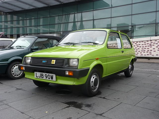 Austin Metro_Coventry Transport Museum_Hales Street_Coventry_Oct17