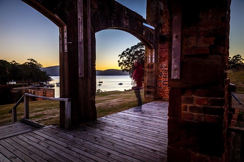 Russell Ghost At Port Arthur Sunrise-2
