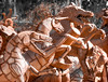 Ricardo Breceda's Sculpture 12.2.17 2 (Marcie Gonzalez) Tags: metal work art artist sculpture sculptures artistic decor ricardo breceda temecula california riverside county inland empire southern socal so cal northern usa us north america from scraps figures dinosaur dinosaurs horse horses vendor store ricardobreceda