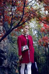 ANNA (kacharava19) Tags: georgia girl green garden face fall beauty beautyfull tree people portrait park