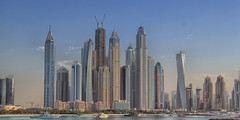 Dubai City Skyline (SivamDesign) Tags: canon eos 550d rebel t2i kiss x4 canonefs18135mmf3556is dubai city urban landscape skyline cityscape downtown nik collection plugins filters dubaimarina