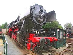 Stoomloc VSM 52 8053 is net gedraaid op de draaischijf van depot Beekbergen. (Dicky.1952) Tags: steamlocomotive locomotive effects lieren