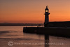 THE FIRST LIGHT (mark_rutley) Tags: cornwall lighthouse mevagissey kernow dawn sunrise breakwater harbour silhouette