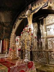 97 - Golgota a Szent Sír templomban / Kalvária v Bazilike Božieho hrobu
