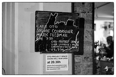Sylvie Courvoisier & Mark Feldman @ Cafe Oto, London, 1st December 2017 (fabiolug) Tags: blackboard billboard board cafeotoblackboard ashwinst ashwinstreet handwriting handwritten sylviecourvoisiermarkfeldman markfeldmansylviecourvoisier sylviecourvoisier markfeldman piano pianoforte violin duo cafeoto london dalston music gig performance concert live livemusic leicammonochrom mmonochrom monochrom leicamonochrom leica leicam rangefinder blackandwhite blackwhite bw monochrome biancoenero zeisscsonnartf1550mmzm zeisszm50mmf15csonnar zeisscsonnar zeisssonnar zeiss sonnar 50mm sonnar50mm 50mmf15