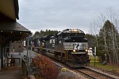 NS 1146 Westport NY (ERIE1960) Tags: railroad railfan trains locomotive freighttrain canadianpacific norfolksouthern delawareandhudson dh westportny newyorkrailroads emd sd70ace
