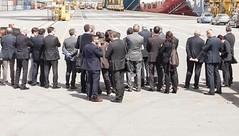 APT (gar_xxx1) Tags: apt autoritàportuale baviera fvg grazianodelrio horstseehofer italy molovii president parisi portoftrieste samer trieste zenodagostino city delegation rail sea smart visit