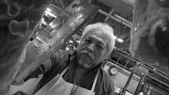 On the edge of the leaf (Isaac Palacio) Tags: black white street photography market yucatan people latinamerica happy xmas flickr bw portrait bnw walk blanco y negro noiretblanc zwartwit svart og hvitt schwarz und weis pretoebranco biancoenero zwart en wit 黒と白 merida city streetphoto miligramo