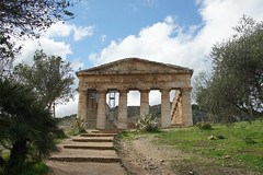 Segesta and Trapani, Italy, December 2017