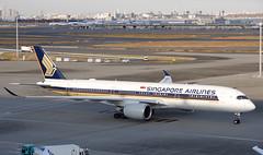 エアバスA350-900 Airbus A350-900 (ELCAN KE-7A) Tags: 日本 japan 東京 tokyo 羽田 haneda 国際 空港 international 飛行機 航空機 airplane airline airport シンガポール 航空 singapore airlines sq sia エアバス airbus a350 350 900 ペンタックス pentax k3ⅱ 2017