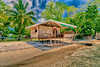 beach front (Paterson Galupe) Tags: hdr beach shore hut philippines nipa straw island