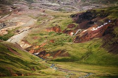 Colorful Iceland (desomnis) Tags: iceland nature island green field natur travel traveling landscapes landschaft canon6d canonef70300mmf456isiiusm canonef70300mm canon70300mmf456 6d canon desomnis travelphotography mountains hills hveragerdi hveragerði europe