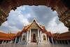Wat Benchamabophit (fredMin) Tags: marble temple thailand benchamabophit buddhism wat bangkok fuji travel xt1