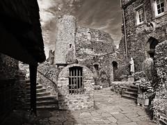 Castle Thurant/Germany (diarnst) Tags: burg castle naturstein blackwhite mosel alken ruine ruin