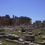 Baalbek, Großer Hof des Jupiter Tempels thumbnail