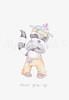 Raccoon nursery art print (My love bubble) Tags: nurseryart nurserydecor nurseryprint nurseryillustration nurserydrwing nurserypicture babyart babyboyart boynursery bbayprint babypicture babyanimal cuteart etsyart etsybaby