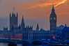 Houses of Parliament and Big Ben at Dusk (briburt) Tags: briburt london skyline parliament housesofparliament bigben bridge england