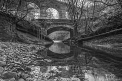 Still Waters... (CamraMan.) Tags: middlegeltbridge brampton cumbria blackandwhite monochrome rivergelt viaduct bridge arch stones canon6d canon1740mmlusm manfrotto leepolariser ©davidliddle ©camraman