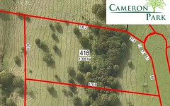 Lot 418 Cameron Park, McLeans Ridges NSW