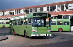 Provincial 36 870905 Gosport [jg] (maljoe) Tags: provincial nationalbuscompany nbc leylandnational leyland national