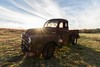 The Old Dodge Truck (Maggggie) Tags: 10mm dodge truck flare burst wideangle farm minter
