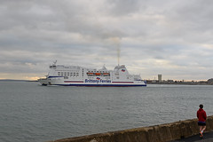 DSC_2010-1 (John.Walton) Tags: portsmouth portsmouthsouthsea cityofportsmouth hants hampshire england uk brittanyferries montstmichel roro ferry caen france northernfrance brittany departing