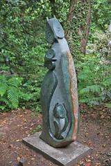 """Owl Family"" The Sculpture Park, Churt, Surrey (Andrew-M-Whitman) Tags: the sculpture park churt surrey owl family"