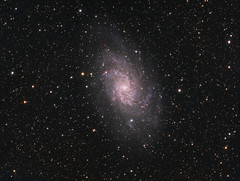 M33 The Triangulum Galaxy (drdavies07) Tags: m33 messier33 triangulum apm107 qsi583