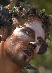 Pan, god of the wild (Jersey JJ) Tags: pan god of the wild ny new york renaissance fair festival portrait mythology