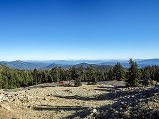 View from Lassen Volcanic National Park Highway