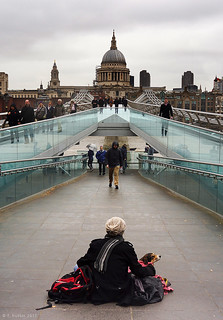 The Millennium Bridge, London