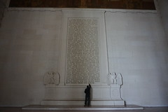 As true today as when it was said... (beyondhue) Tags: lincoln memorial tribute structure marble washington beyondhue engraved speech white architecture elegant grandiose national mall wall letters quote