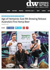 (benjaminbcairns) Tags: drinks world international east 9th brewing doss blockos hempire hemp ale beer innovation melbourne australia josh lefers stephen wools benjamin cairns