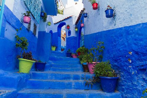Chefchaouen - die blaue Stadt