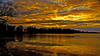 No wonder I miss so much TV !! (Bob's Digital Eye) Tags: 2017 bobsdigitaleye canon canonefs1855mmf3556isll clouds dramaticskies flicker flickr frozenlake ice icetextures laquintaessenza lakesunsets lakescape landscape november orange reflections silhouette sky t3i trees winter sunset