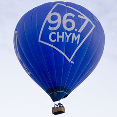Blue Balloon (rschnaible) Tags: albuquerque balloon fiesta festival new mexico us usa hot air flight fly aircraft sport west western southwest vehicle transportation color colorful square format