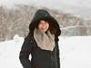 Coat (AlecTse) Tags: japan snow hokkaido niseko ski winter village white girl portrait 120 film fujifilm kodak portra mamiya 7ii 6x7 medium format 65mm 150mm forest trees mood landscape