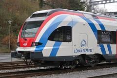 SBB - Léman Express by Stadler (Kecko) Tags: 2017 kecko switzerland swiss schweiz suisse svizzera ostschweiz rorschach sg bahnhof station bahn eisenbahn railway railroad sbb zug train stadler rail group flirt rerléman rabe 5222158 522215 lémanexpress s swissphoto geotagged geo:lat=47477580 geo:lon=9505420