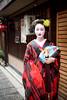 Mameryu - Maiko in Kyoto 09 (JUNEAU BISCUITS) Tags: maiko geisha japan kyoto gion portrait portraiture model beauty glamour nikond810 nikon kimono umbrella garden temple