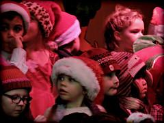 Kindergarten Christmas Concert (calamityjan2008) Tags: kids concert christmasconcert kindergartenconcert christmas2016 lastchristmas children childreninsantahats kidsinred
