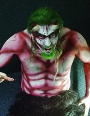 Merry Krampus (petejam70) Tags: bodypaint krampus art amazing vancouvercanada surreal talent man