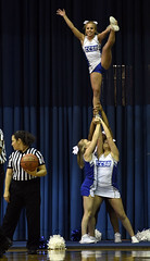 CCSUwomen-NB-120917_1667 (newspaper_guy Mike Orazzi) Tags: sports basketball hoops 70200mmf28gvr d500 nikon centralconnecticutstateuniversity yaleuniversity bluedevils bulldogs women collegesports sport cheer cheerleader cheerleaders