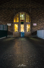 Market before Opening (Wits End Photography) Tags: entrance portal market building opening entry structure people streetphotography architecture doorway soulard light places door