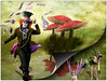 More of Alice (PaulO Classic. ©) Tags: photoshop picmonkey aliceinwonderland fantasy